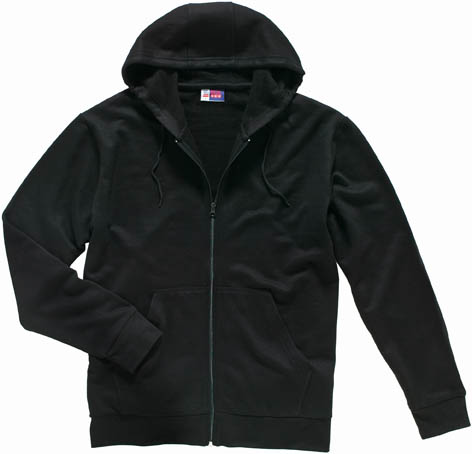 MORRIS HOODED FULL ZIP SWEATER