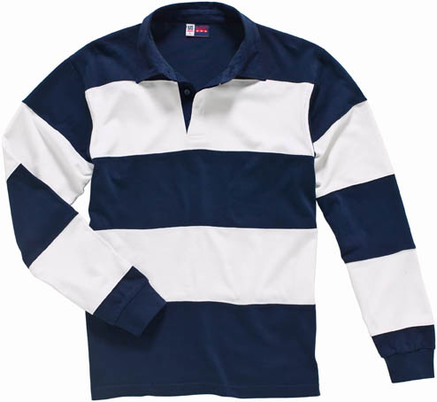 ZEREGA STRIPED RUGBY SHIRT