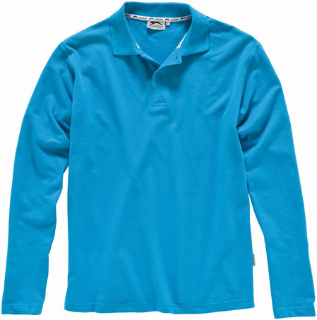SLAZENGER LONG SLEEVE POLO