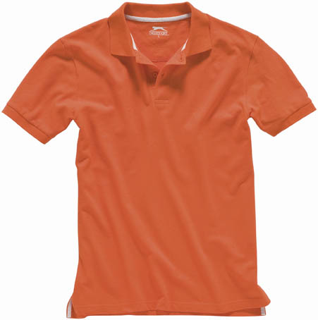 MODERNE ORANJE TIGHT-FIT POLO