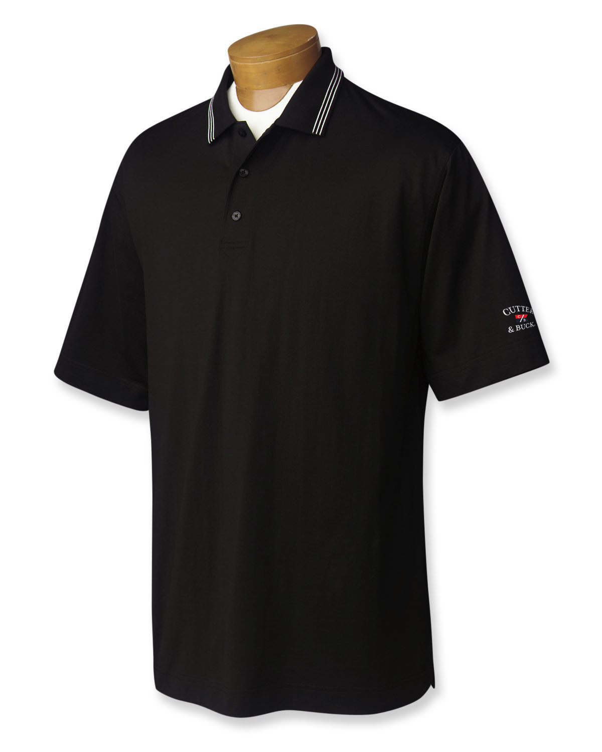 PIMA JERSEY TIPPED POLO HEREN