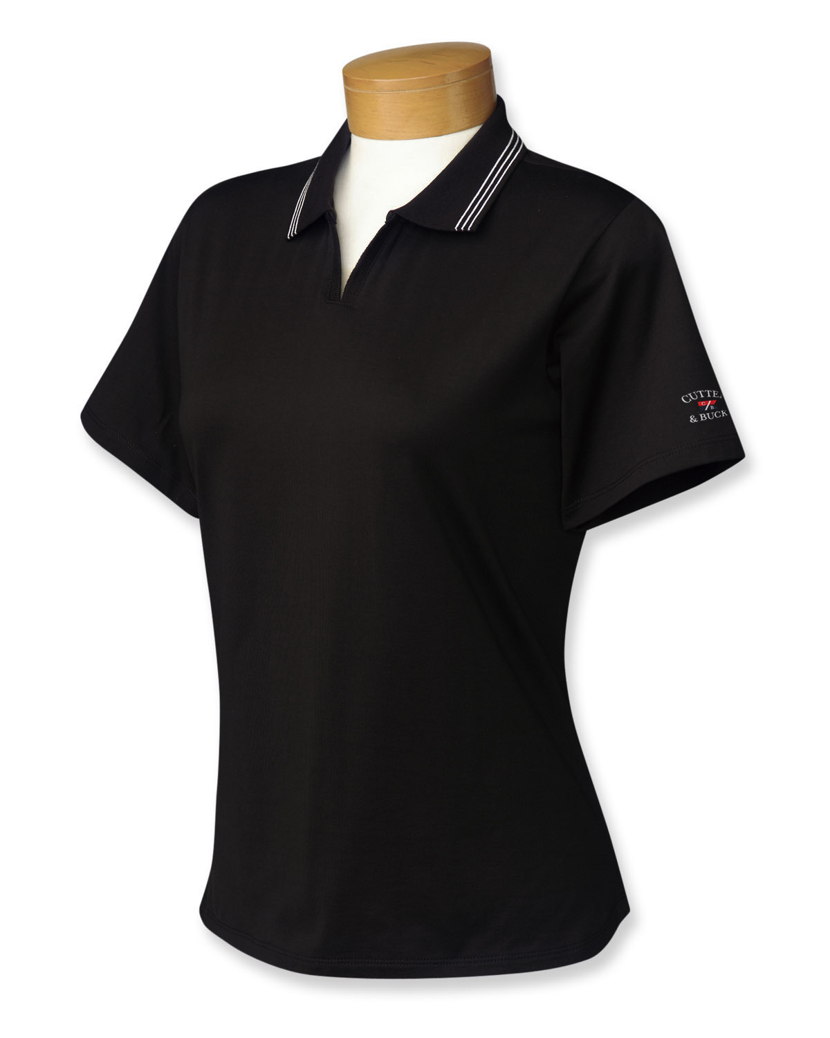 PIMA JERSEY TIPPED POLO DAMES